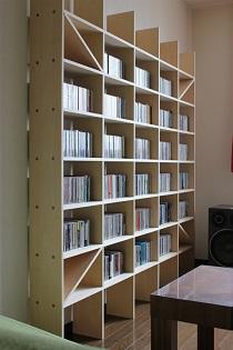リビングのCD棚-2