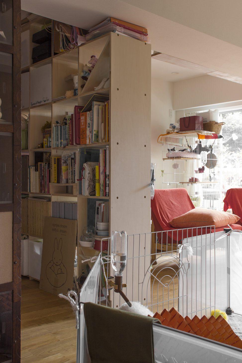 両面から使える間仕切り棚 | 壁一面の本棚 奥行350mm/Shelf(No.56)