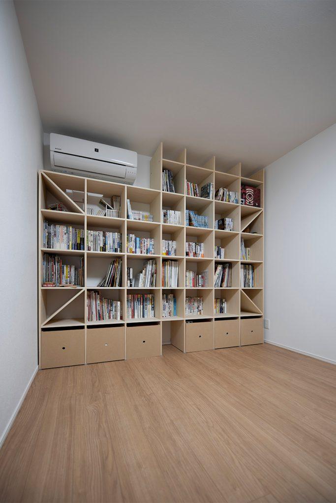 書斎の本棚
