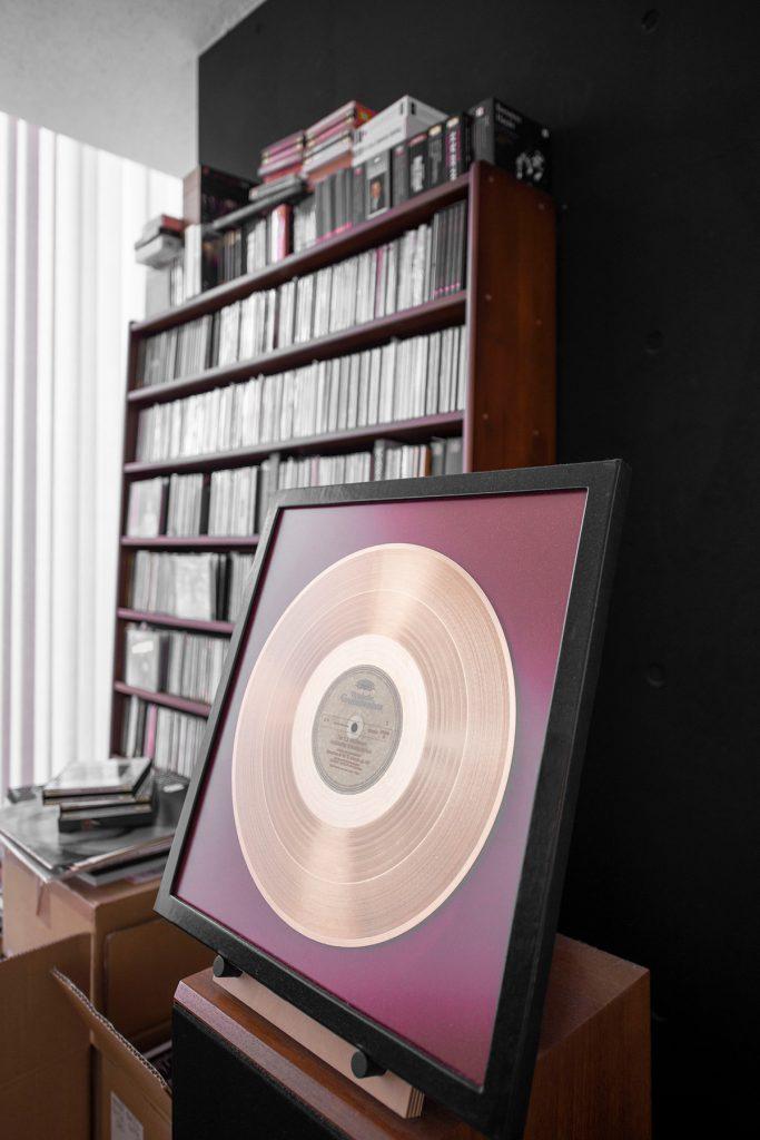 ドイツグラモフォンにより作成されたゴールドディスク