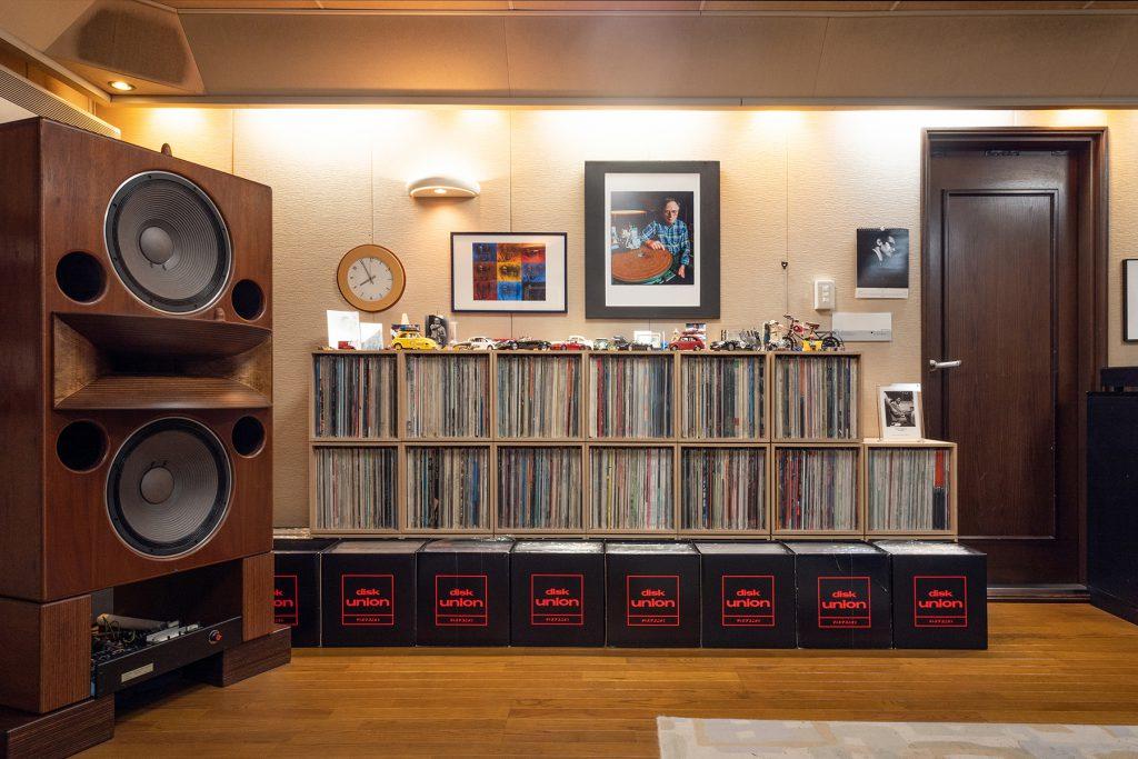 アナログレコード収納棚