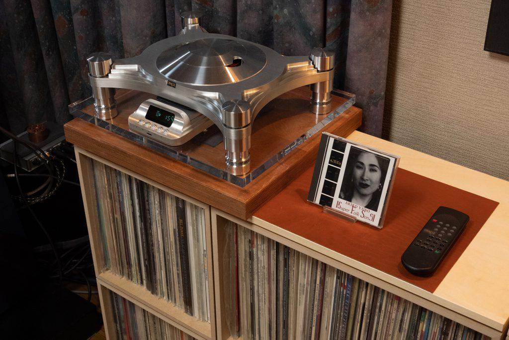 LPレコードのためのオーディオルーム