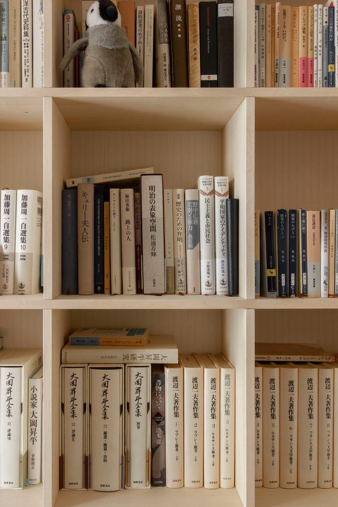 それぞれの書斎スペース