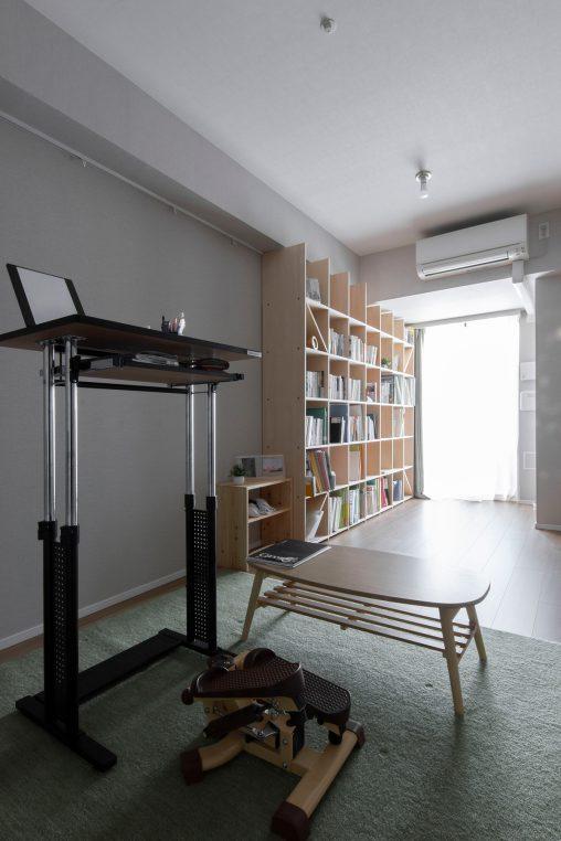 壁一面の本棚 奥行350mm/Shelf(No.85)