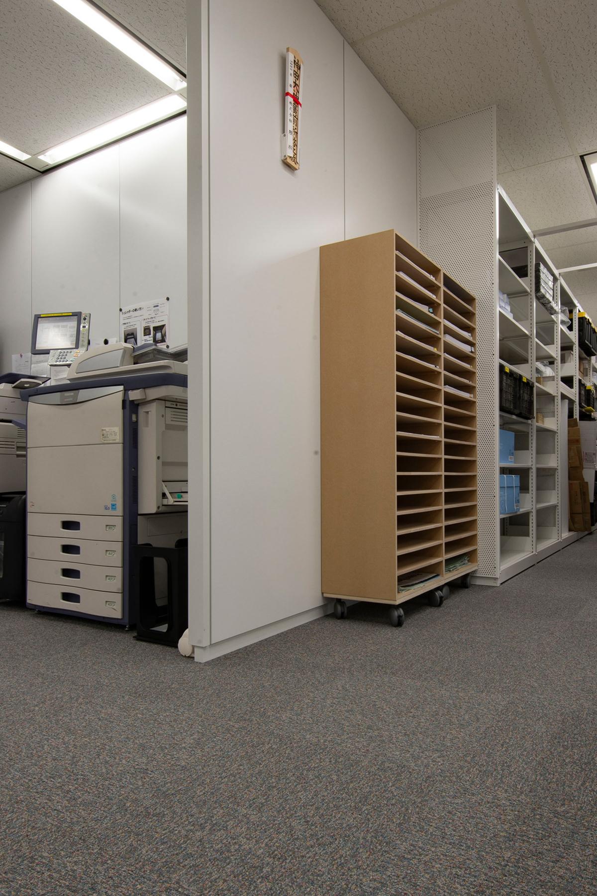 図面管理の共有化 | A3書類棚
