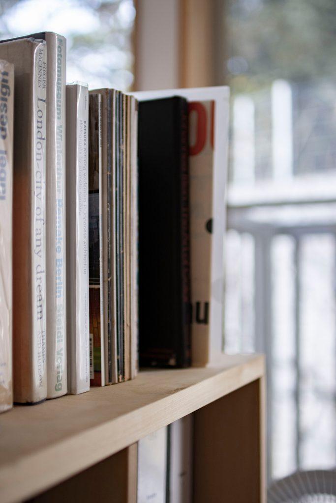 本棚ロータイプ