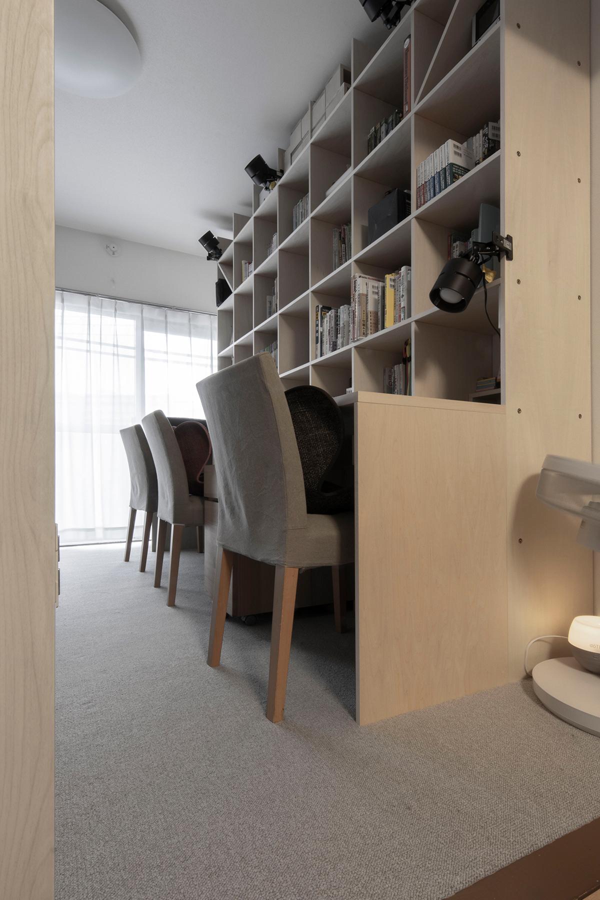 カウンター付き本棚のある子供部屋 | カウンター付き本棚/Shelf(No.29)