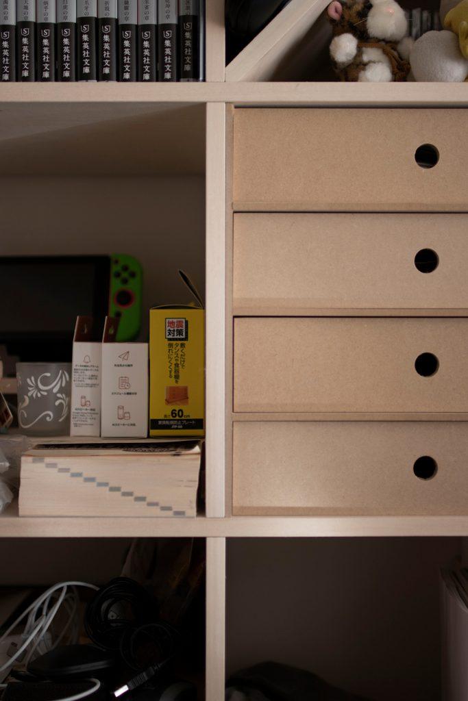テレビ壁面収納とリビングボード