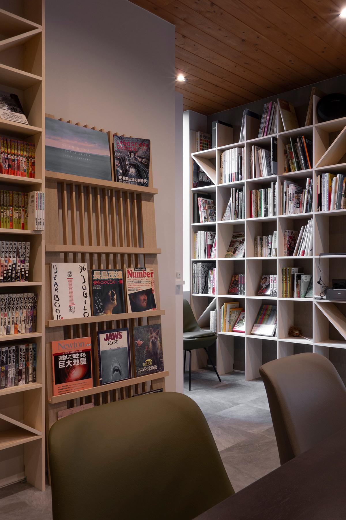 Jaja'sプロジェクト「私設図書館」- その2 |マガジンラック / Ladder (No.05)| マルゲリータ使用例