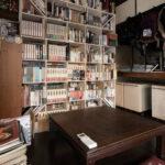 昭和の住まいの中に(その1) | 壁一面の本棚 奥行250mm / Shelf (No.83) | マルゲリータ使用例