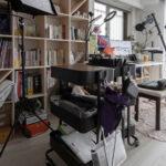 情報発信基地に | 壁一面の本棚 奥行250mm / Shelf (No.88) | マルゲリータ使用例