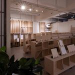 商品展示収納のためのディスプレイ   マルゲリータ 東京ショールーム (No.04)   マルゲリータ使用例