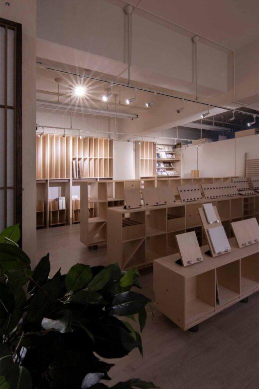 商品展示収納のためのディスプレイ | マルゲリータ 東京ショールーム (No.04)  | マルゲリータ使用例 シンプル おしゃれ 部屋 インテリア レイアウト