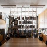 大学建築学科の研究室に | 壁一面の本棚 奥行350mm / Shelf (No.120) | マルゲリータ使用例