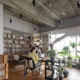 WEB制作会社の制作拠点に | 壁一面の本棚 奥行350mm / Shelf (No.127) | マルゲリータ使用例