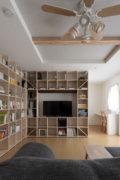 L型に配置する | 開口部のある本棚 / Shelf (No.12) | マルゲリータ使用例